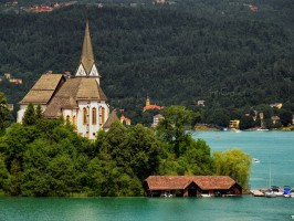 idyll at the woerthersee   maria woerth by pingallery d6bzjwt 266x200 - Turistična ponudba