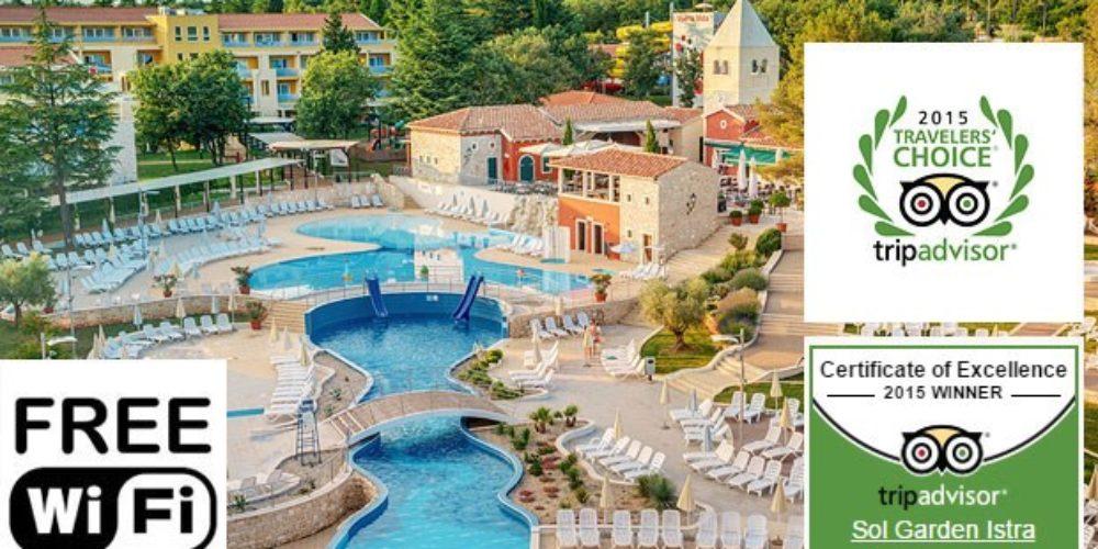 HOTEL in RESIDENCE SOL GARDEN ISTRA for Plava Laguna